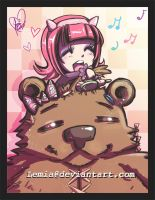 Annie Grooms Tibbers by LemiaCrescent