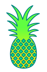 Wooooooooo Pineapple ^-^ by Abominablyme