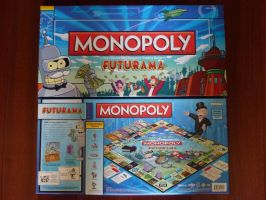 Futurama Monopoly: The Box by Spaceman130