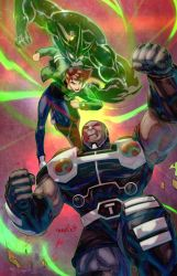Ben 10 vs Darkseid (By emmshin) by Krounus