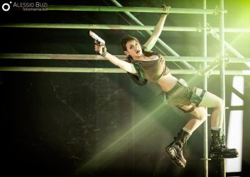 Lara Croft - Tomb Raider Legend | Flying by FuinurCroft