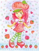 Strawberry shortcake by jkBunny