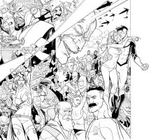 Invincible Hard cover VOL6 by RyanOttley