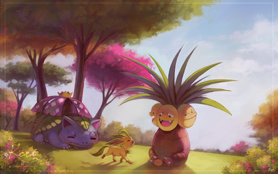 :C: Tranquil Forest by KoriArredondo
