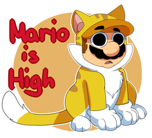 Mario is high by MarioCatBros123