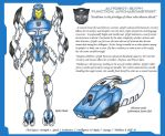 Transformers Movie Style Glyph OC by Tazirai