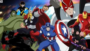 Avengers - Together Fight as One by Xpand-Your-Mind