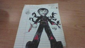 Collin Farrior (Slender Proxy Unleashed) (Drawing) by Stormtali