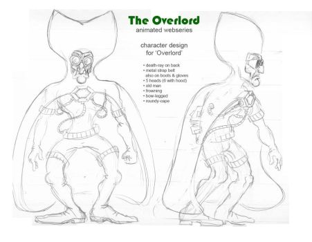 Overlord Character Design by crackwalker