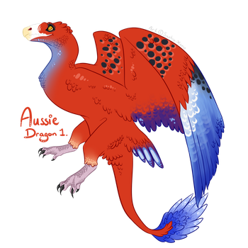 Aussie Dragon 1 *CLOSED* by Saphia-Xeno