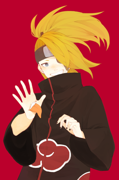 AT deidara by meccchi