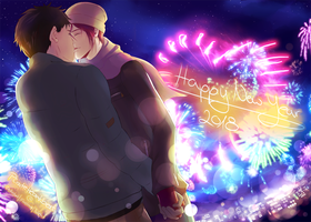 Happy New SouRin Year 2018 by PirateHeartbeat