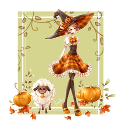 Farm Witch by fayrine