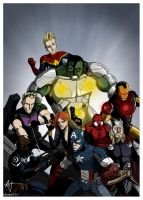 Avengers by dorets