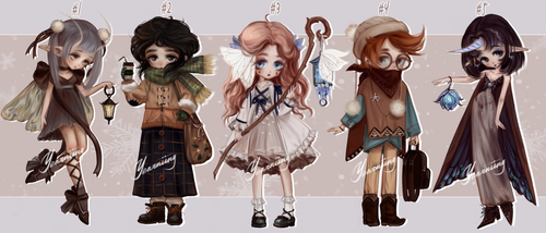 [OPEN 1/5] {Set Price Adoptables} - [33] by Yearniing-And-Heroin