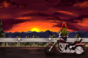 IL: the skys on fire by FrozenTimez