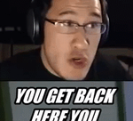 Markiplier, You Get back here you bitch! by CorinneAI