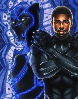 Black Panther by smlshin