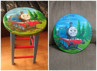 [Commish for cousin's son] Edward the Blue Engine by Ishimaru-Chiaki