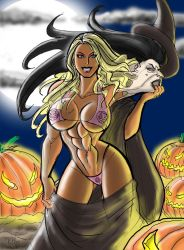 Megan Avalon Trick or Treat by johnnyharadrim