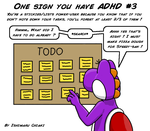 18 Signs you have ADHD #3 by Ishimaru-Chiaki