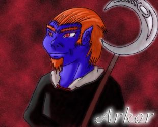 Arkor the Kobold by Astre