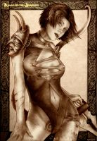 Planescape Torment Annah by Agregor
