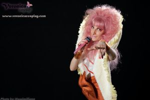 Jem - Glitter and Gold version by VeronicaCosplay