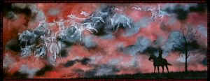 Ghost Riders In The Sky by Deslichen
