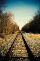 Tracks to Somewhere by robertllynch