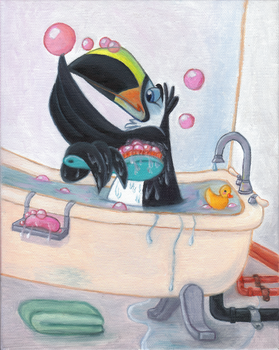 Burb Bath by crazyyellowfox