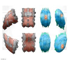 Tower Shield Concepts - 12-11-15 by Esaurus