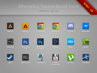 Alternative Faenza Icons Vol.3 by minstreldesign