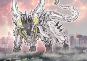GTB: Balkzardan - The Lightning God Beast by AVGK04