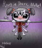 Hang in There, Muffet! by Fahad-Lami