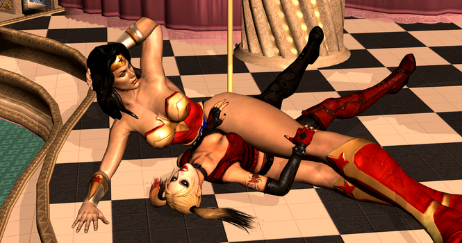 Harley Quinn Subdued 1/4 by 3DCatfights