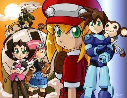 Mega Man Tribute Legends by rongs1234