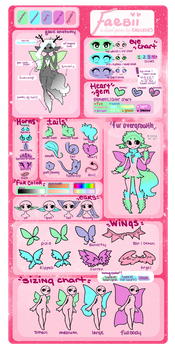 Faebii Species Reference {Closed Species} by RicePoison
