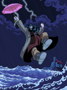 Hagrid Poppins by Hyaroo