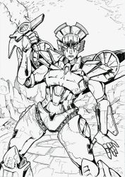 Forged to Fight Windblade by JoeTeanby