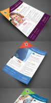 Multipurpose Corporate Flyers, Magazine Ads vol. 5 by env1ro