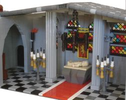LEGO papal palace interior by Mister-oo7
