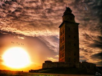 Tower of Hercules...World Heritage ... by Leocervas