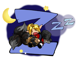 Sleeping Evil by melukilan