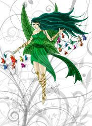Syphylia, the spring Faery by Sombreval