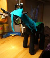 [MLP:FiM] Queen Chrysalis plushie by Smimon