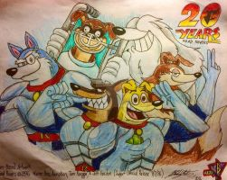 Road Rovers 20th Anniversary  by TheDoomsdayKing