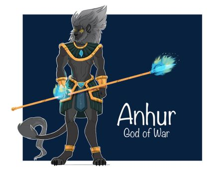 Anhur final design by byDaliaPamela