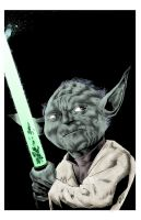 YODA PRINT clr by drawhard