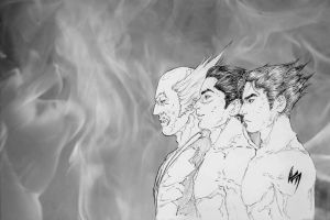 Fathers and Sons by Antinicole